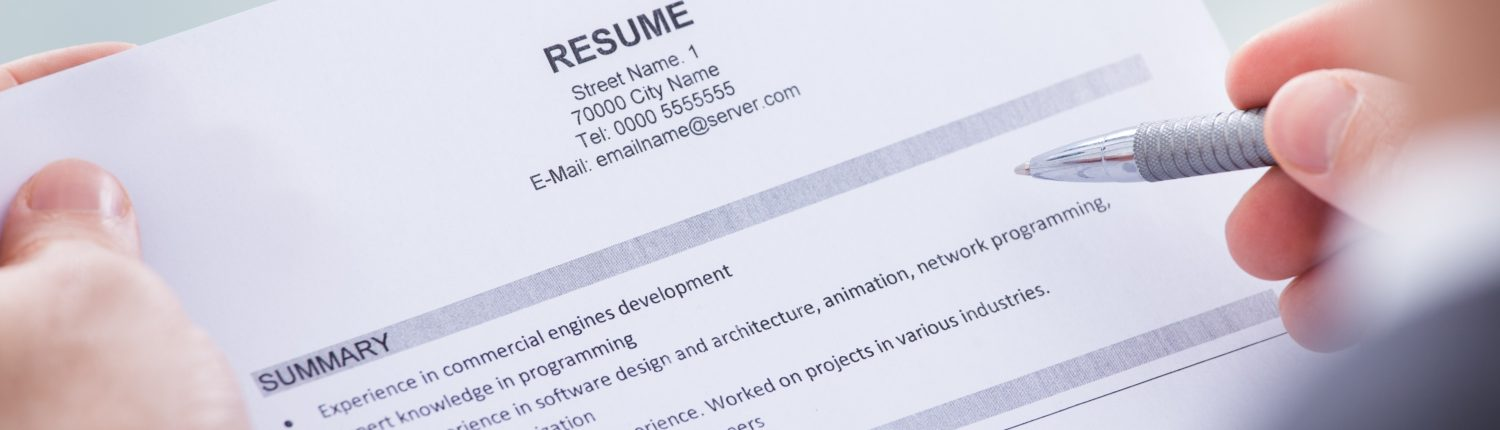 Resume Formatting Tips for Contract Positions