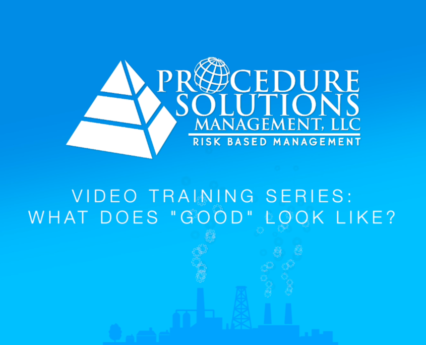 Video Training Series - Identifying Human Error Likely Situations